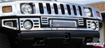 HUMMER H2 Slotted Bumper Overlay Kit (Front Complete) By Realwheels