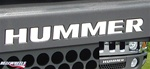 HUMMER H3 Bumper HUMMER Letters by RealWheels