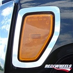 HUMMER H3 Front Marker Light Surrounds by RealWheels