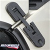 Hummer H2 Black Hood Latches Billet Aluminum By Real Wheels