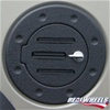 Hummer H2 Fuel Door - Black Grooved Non Locking By Realwheels