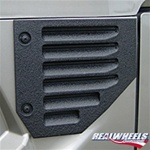Hummer H2 2004+ Black Side Vents by Real Wheels