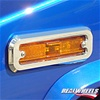 H2 Side Marker Light Bezels By Realwheels