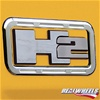 H2 Billet Aluminum Logo Surrounds by Real Wheels