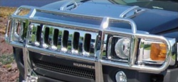 HUMMER H3/H3T Double-Tier Brush Guard W/O Inserts by RealWheels