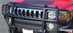 HUMMER H3/H3T Double-Tier Brush Guard With Inserts Black by RealWheels