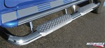 HUMMER H2 Bent Tube W/ Stainless Steel Step, Upper Tube Facade by RealWheels