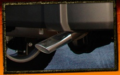 Wrangler Stainless Steel Exhaust Tip by Real Wheels