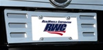Luxury Chrome Plated License Plate Surround by RealWheels