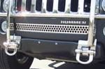 Hummer H3 Stainless Steel Mini Grille by Steelcraft