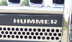 Hummer H3 Bumper Letters by Steelcraft