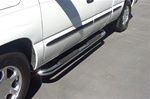 "Silverado / Avalanche Stainless Steel 3"" Side Bars by Steelcraft"