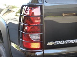 Avalanche / Silverado Taillight Guard By Steelcraft