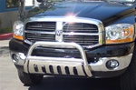 "06-08 Ram 1500 Stainless Steel 3"" Bull Bar by Steelcraft"