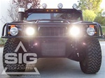 "Hummer H1 7"" Round HID Head Light Lamps by STARR"