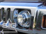 "Hummer H2 7"" Round HID Head Light Lamps by STARR"