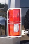 HUMMER H3 Stainless Steel Tail Light Guard Set V.2
