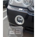 ABS Chrome Fog Light Bezels TEAKA-98103