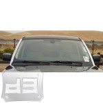 ABS Chrome Front Window Pillar Covers TEAKA-98104