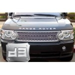 ABS Chrome Head Light Covers TEAKA-98106