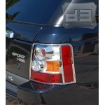 ABS Chrome Tail Light Covers TEAKA-99100