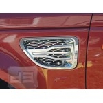 ABS Chrome 'X' Style Side Vents TEAKA-99108