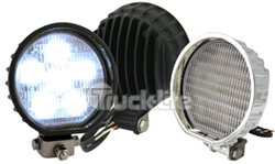 LED 4'' Flood Lamp, 6 Diode Pattern by Truck-Lite TL-81380 TL-81385