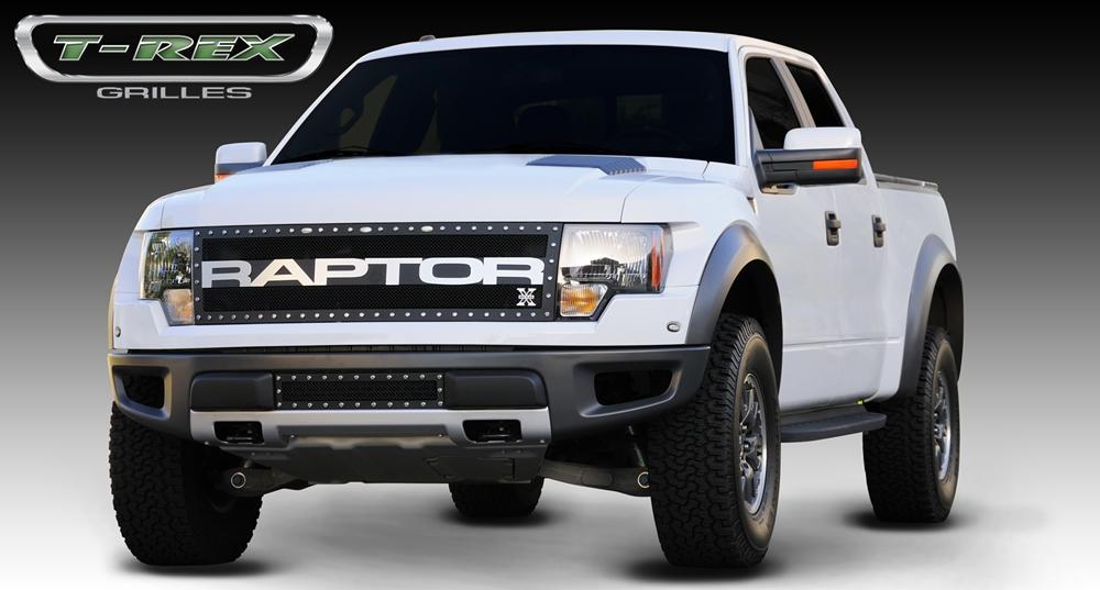 2009 2013 ford f 150 svt raptor special edition x metal grille tr 6735666. Black Bedroom Furniture Sets. Home Design Ideas