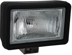 "5710 Tungsten Series 5"" x 7"" Black Halogen Lamp by Vision X - Nylon Housing"
