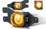 99-04 Ford F250 Halo Projector Fog Light (Yellow) by Winjet