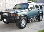 Hummer H3 Rocker Bars Optional Side Nerf Steps by Willmore