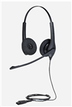 Jabra Biz 1500 Duo QD Headset - 1519-0157