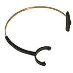 Supra Mono Headband, black colored