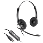 Plantronics Entera HW111N-USB Headset - 202257-01