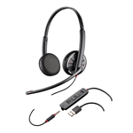 Plantronics Blackwire C325-M USB, 3.5mm Stereo Skype Business - 204446-101