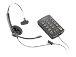 T10 Single-Line Headset Phone w/Base Keypad