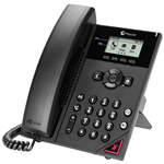 VVX 150 2-line Desktop Business IP Phone with dual 10/100 Ethernet ports
