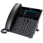 VVX 450 12-line Desktop Business IP Phone with dual 10/100/1000 Ethernet ports (2200-48840-025)
