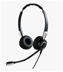 Jabra Biz 2400 II Duo Ultra-Noise Canceling UNC QD Headset - 2409-720-209