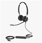 Jabra Biz 2400 II USB Duo CC MS Headset - 2499-823-309
