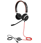Jabra EVOLVE 40 UC Stereo UC USB-C, 3.5mm Headset - 6399-829-289