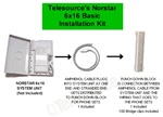 Norstar 6x16 System Installation Kit - Basic