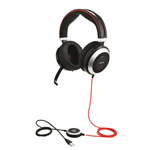 Jabra Evolve 80 MS/Lync Stereo Headset - 7899-823-109
