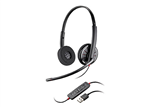 Plantronics C320 Blackwire Stereo USB UC Standard Headset - 85619-102