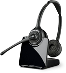 Plantronics CS520-XD Wireless Headset, Binaural - 88285-04