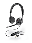 Plantronics Blackwire C520-M Dual-Ear USB Headset for MS Lync/OC - 88861-02
