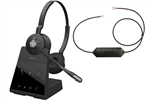 Jabra Engage 65 Stereo with Link Electronic Hook Switch - 9559-553-125 + 14201-43