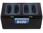 Transformer 4-Bay Battery Charger for Polycom / SpectraLink 8400 & 8440 Series Batteries (CH-TF8400)