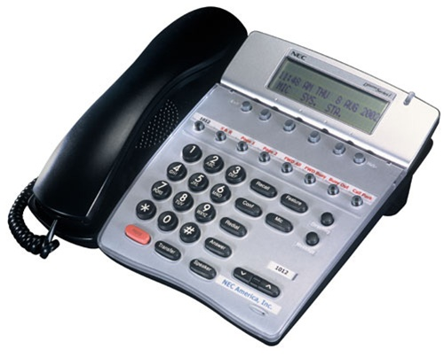 Nec phone dterm series i manually