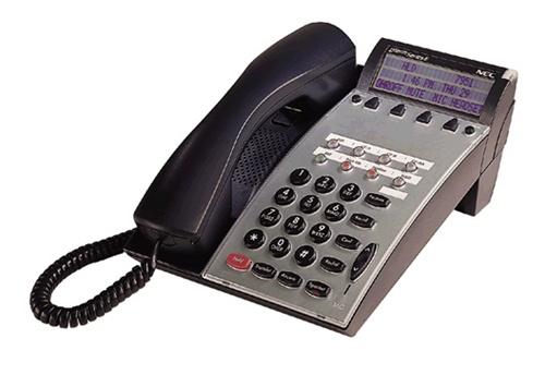 Nec dtp-8d-1 dterm series e 8 button display telephone set.